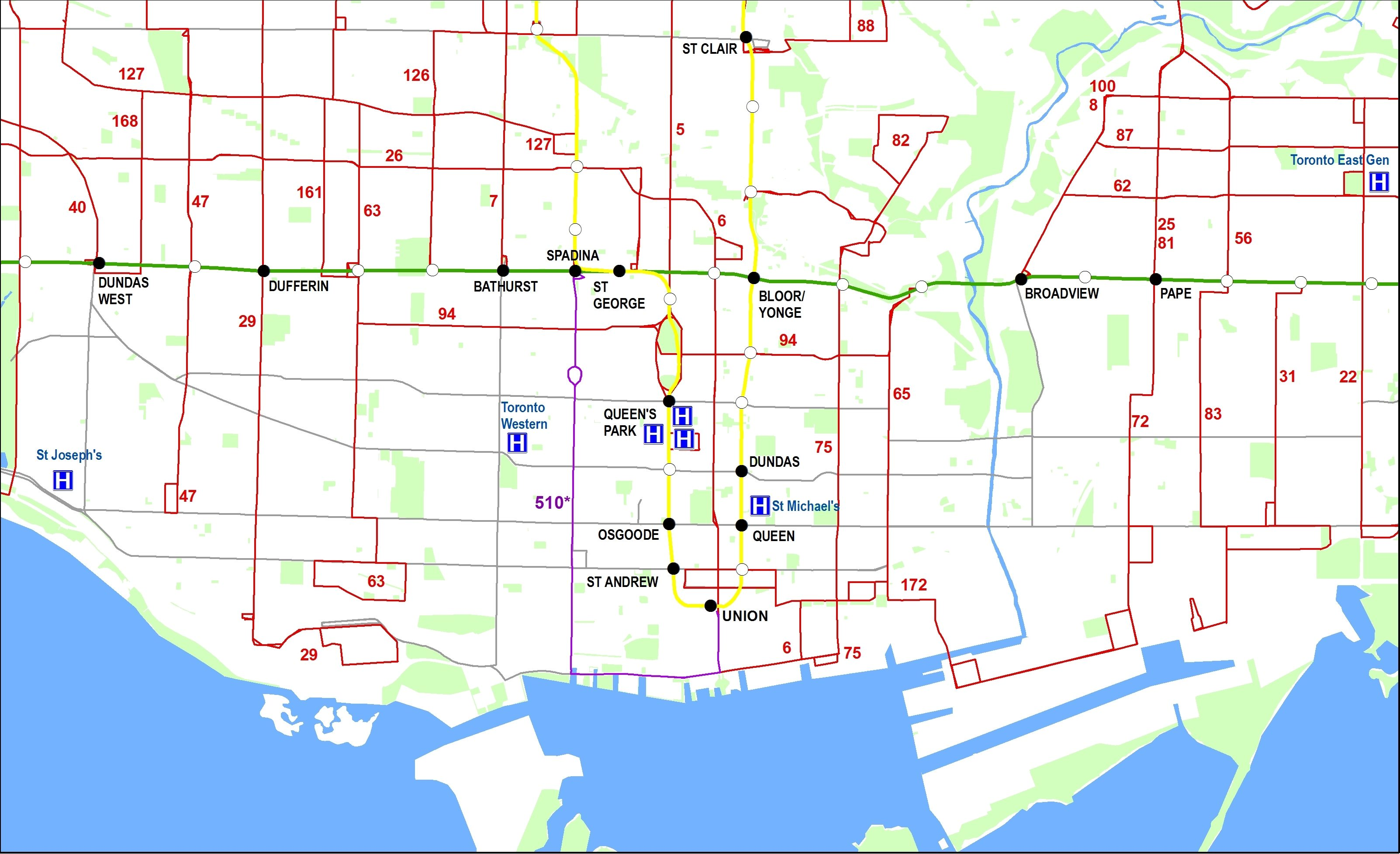 Toronto Subway Map App.Mapping An Accessible Ttc
