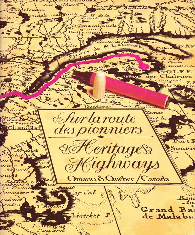 Cover of the 1978 edition of the Heritage Highways guide