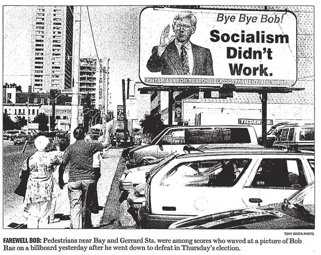 Source: Toronto Star, June 10, 1995