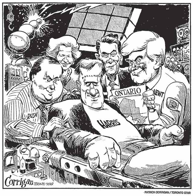 Cartoon by Patrick Corrigan, Toronto Star, June 1, 1995