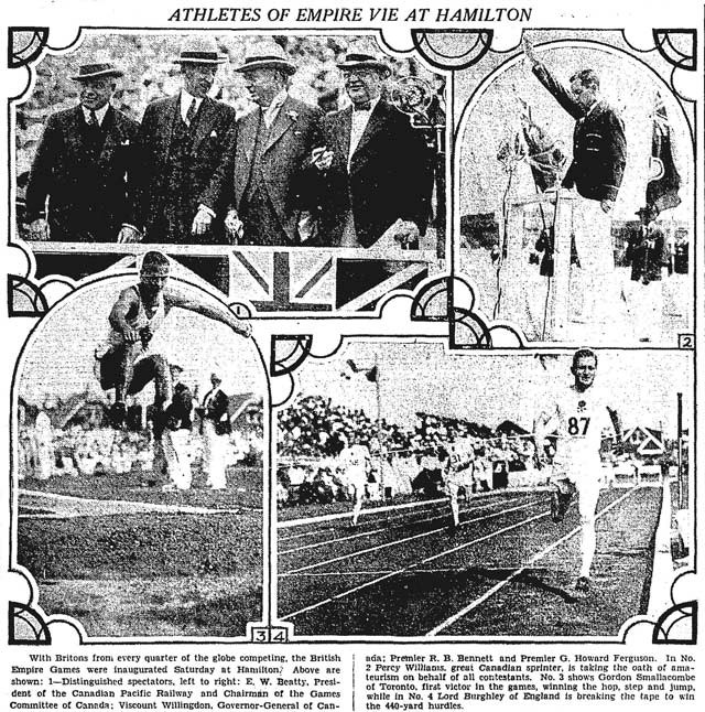 Front page, the Globe, August 18, 1930