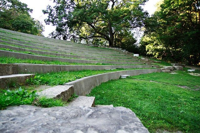 Photo of High Park amphitheatre by Andrei P from the Torontoist Flickr Pool