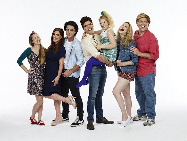 Cast photo of National Lampoon Presents: Full House the Musical! A Tanner Family Parody! courtesy of Rock It Promotions