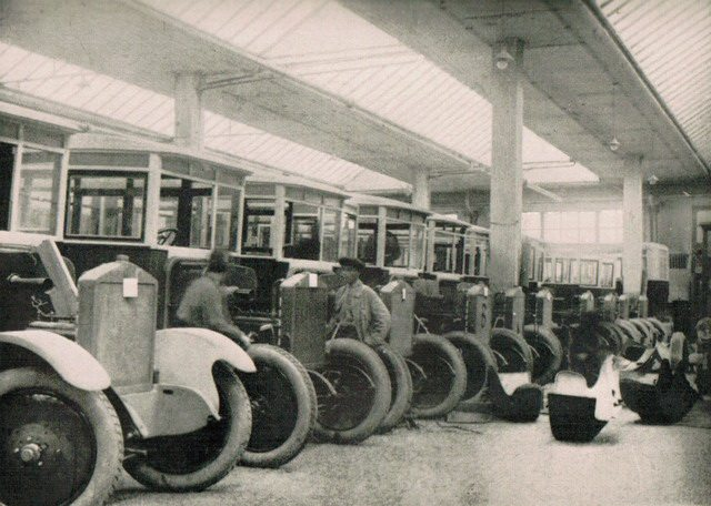 The assembling plant of the Stalin Motor Car Works, from William Henry Chamberlin, Russia's Iron Age (Little, Brown and Company, 1934)