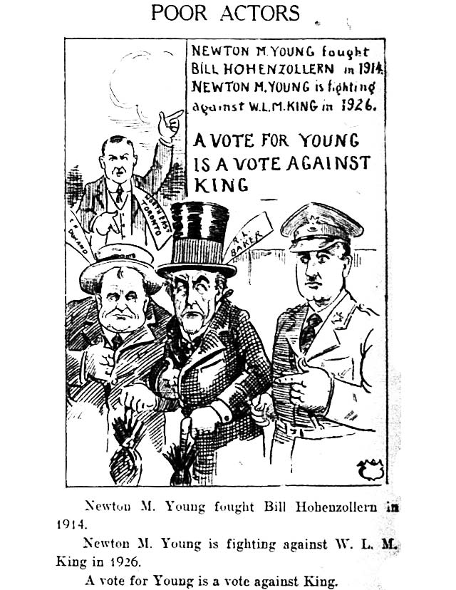 Cartoon, the Telegram, September 11, 1926
