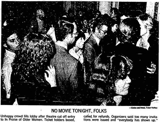 Source:Globe and Mail, September 15, 1978