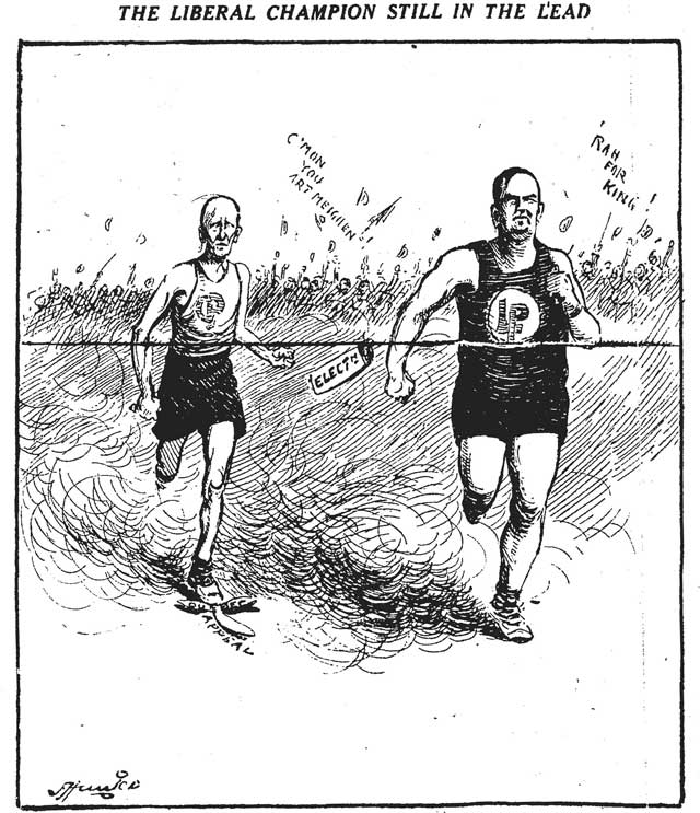 Cartoon, Toronto Star, September 14, 1926