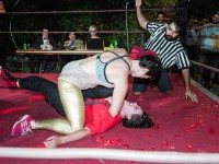 SCENE: Lady Wrestlers Throw Down