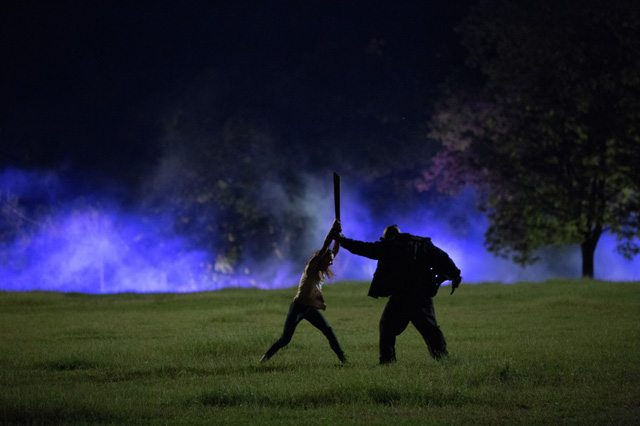 Masked killer Billy takes on one of The Final Girls - Photo courtesy of TIFF
