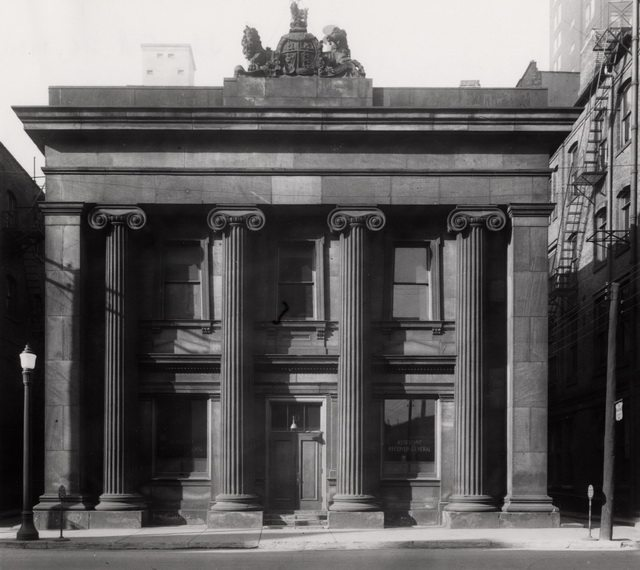Post Office (1852 1873), on west side of Toronto Street, 1930. From the Toronto Public Library's digital collection
