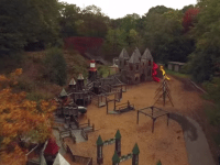 "Screenshot from the video ""High Park Autumn in Toronto"" by Ontaerial."