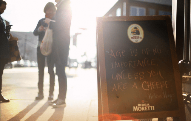 Sign outside of Enoteca Sociale, a Toronto restaurant seeking to improve its labour practices  Photo by Joseph Chan from the Torontoist Flickr Pool