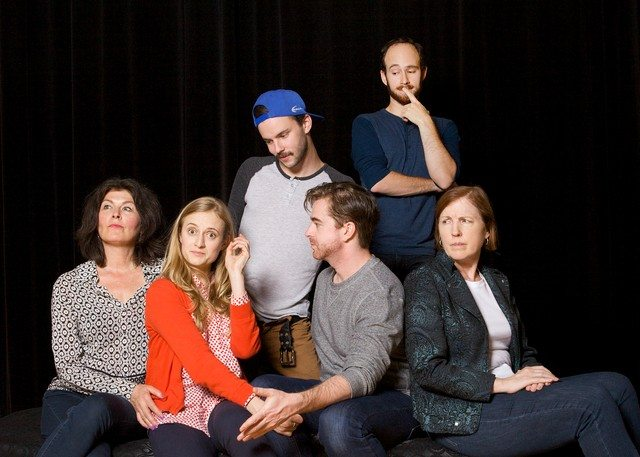 The cast of /The Philanderess  Photo by Max Telzerow