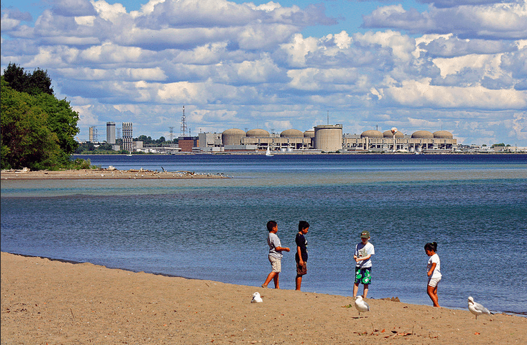 The Pickering Nuclear Generating Station  Photo by Marina Cvet, from the Torontoist Flickr Pool