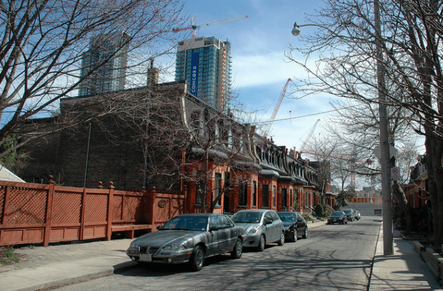 Draper Street, designated an HCD in 1999  Photo by picturenarrative from the Torontoist Flickr Pool