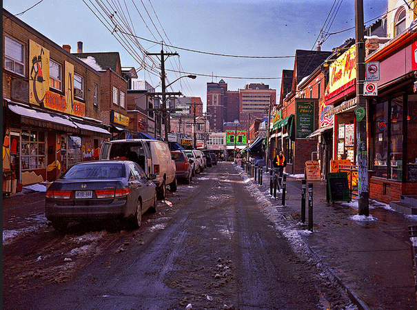 Kensington Market, an area authorized for study as a potential HCD  Photo by Air`leth Aodhfin