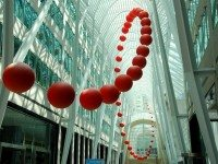 "This is ""long wave"", an art installation by David Rokeby for Toronto's Luminato Festival."