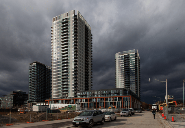 Part of the Regent Park development by Daniels  Photo by Jack Landau from the Torontoist Flickr Pool
