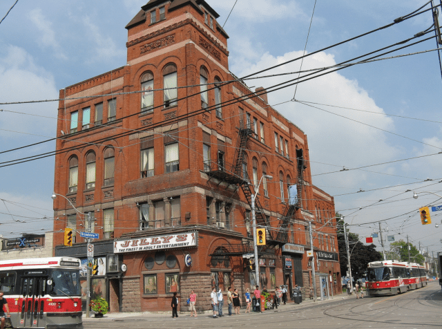 The landmark Broadview Hotel is a Streetcar development  Photo by scarboroughcruiser from the Torontoist Flickr Pool