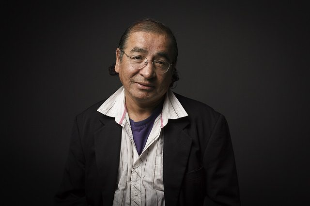 Playwright composer Tomson Highway showcases his music with Songs in the Key of Cree at Hugh's Room this weekend  Photo by Sean Howard