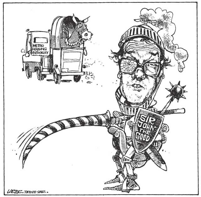 Cartoon, Toronto Star, September 13, 1988
