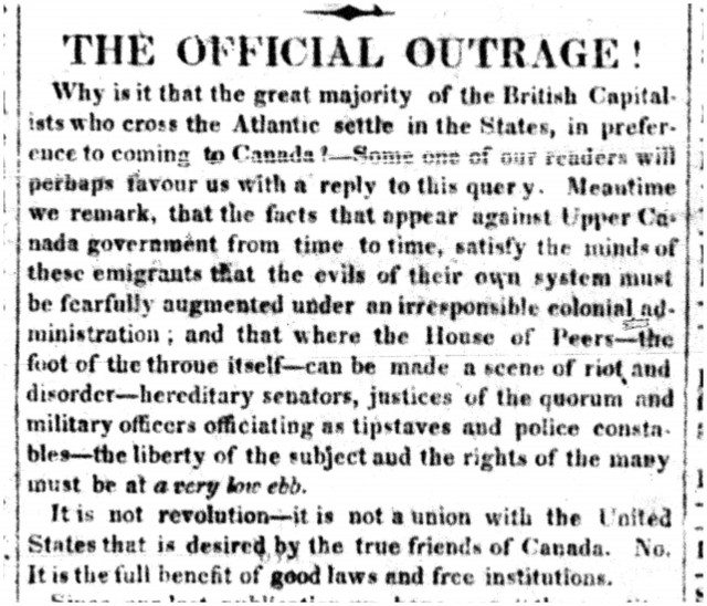 Colonial Advocate July 15 1830