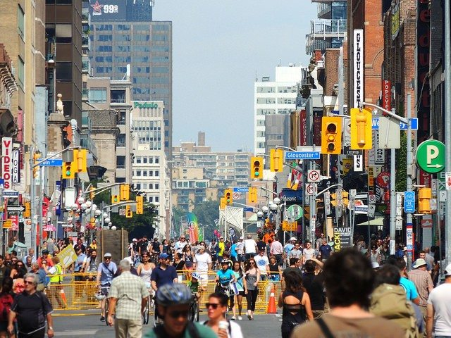Open Streets TO in 2014  Photo by Greg's Southern Ontario from the Torontoist Flickr Pool