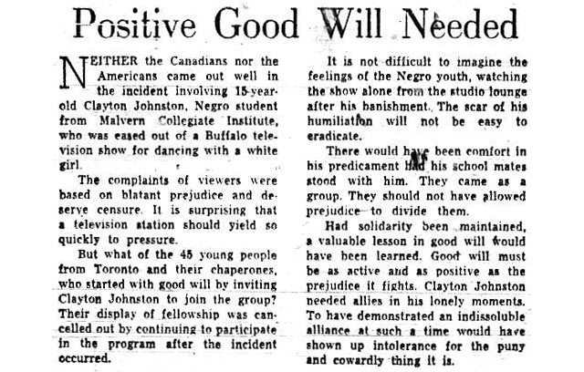 Editorial, the Telegram, May 26, 1959