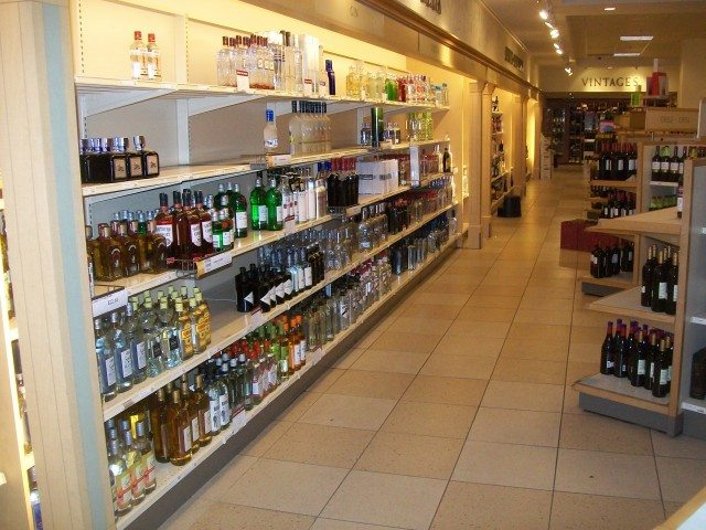 Inside an LCBO  Photo by Randy McDonald from the Torontoist Flickr Pool
