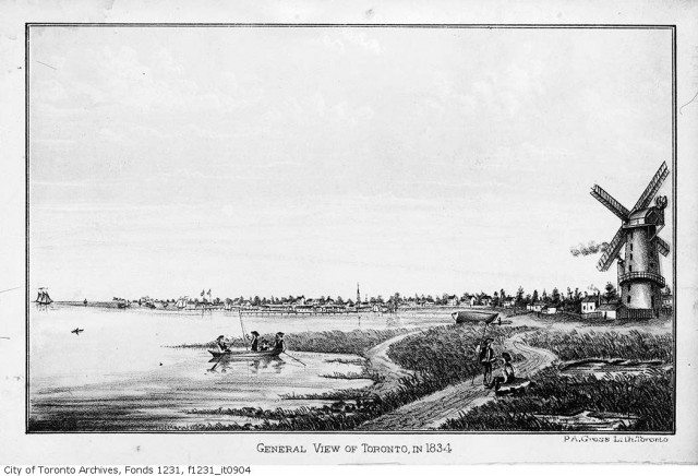 General View of Toronto in 1834