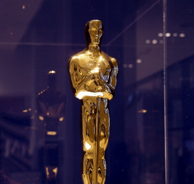 A 2003 Oscar showcased at the TIFF Bell Lightbox  Photo by PLTam from the Torontoist Flickr Pool