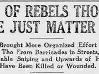 capture of rebels..
