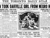 "Front page excerpt, Toronto Star, March 1, 1930. Note that the Star mostly referred to Isabel Jones as ""Alice"" and Ira Johnson as ""Johnston."""