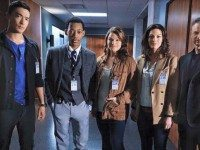 Pictured from left to right: Adam Borders, Isaiah Borders, Sarah Borders-Johnson, Tatum Borders, and Gary Sinise.