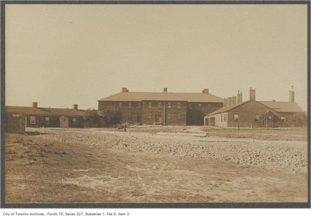 FOrt york barracks