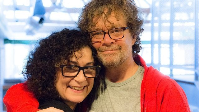 Actress Diane D'Aquila and director Ted Dysktra have reunited to bring back Soulpepper Theatre's hit production of David French's Jitters  Photo by Daniel Malavasi