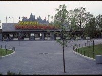 View of Canada's Wonderland main entrance, June 8, 1981. Photo by Harvey R. Naylor. City of Toronto Archives, Fonds 1526, File 98, Item 1.