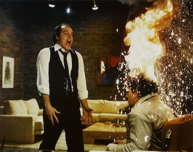 Still from Scanners.