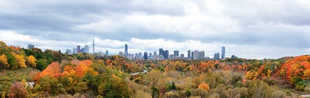 The Don Valley in fall 2014. Photo by David Dang in the Torontoist Flickr Pool.
