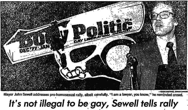 Source: Globe and Mail, January 4, 1979.