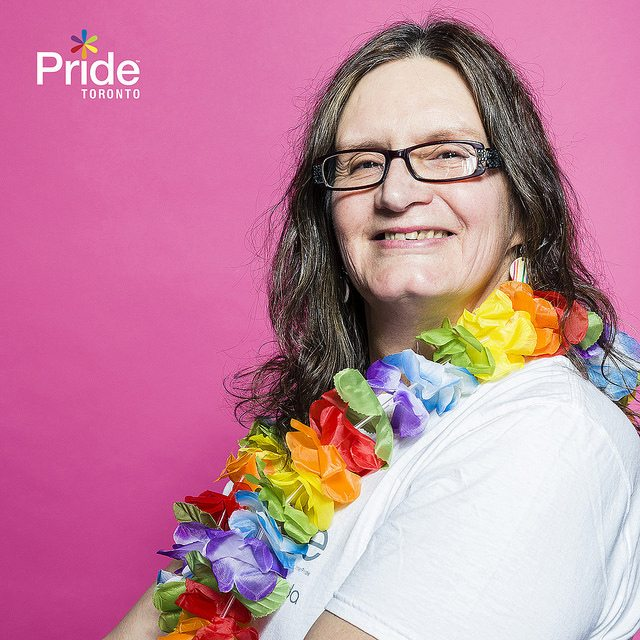 Susan Gapka. Photo courtesy of Pride Toronto.