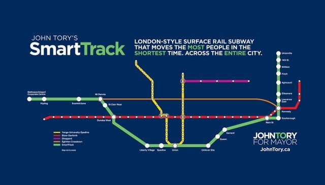 SmartTrack Map