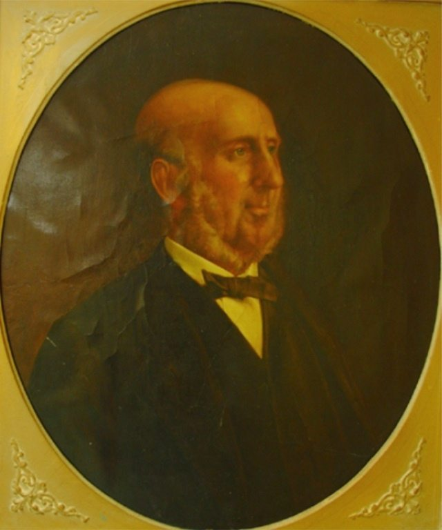Portrait of George A. Barber.  Upper Canada College Archives, 0000.3400.1.  Used with permission.