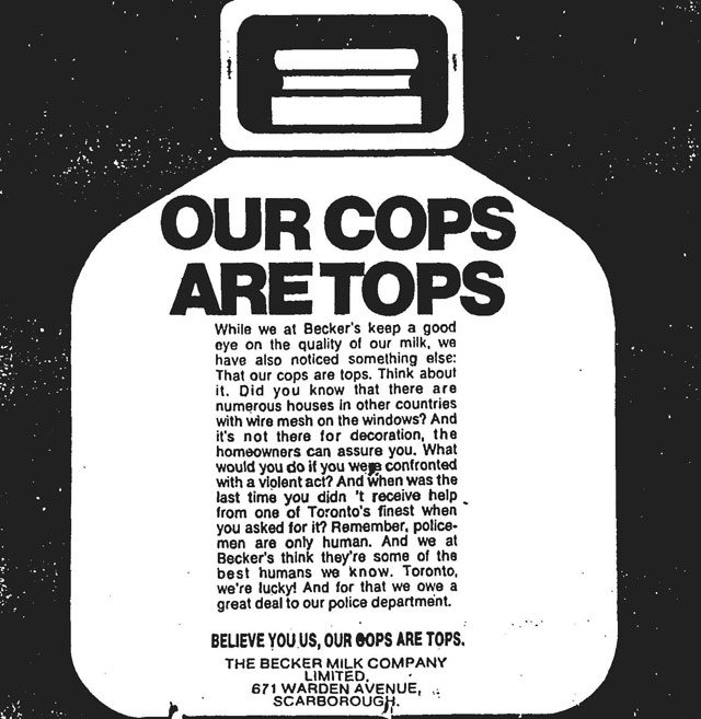 Advertisement, the Globe and Mail, November 15, 1974.
