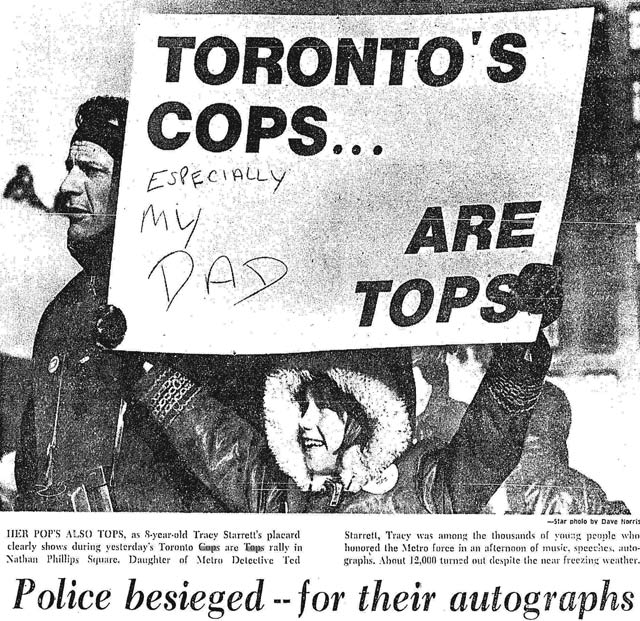 From the Toronto Star, February 19, 1973.