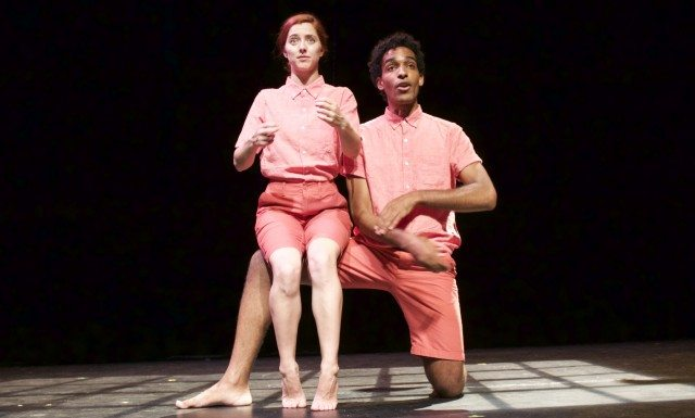 Michela Cannon and Michael Ayres in Far Away, which closes out the Best of Fringe. Photo by Eva Barrie.