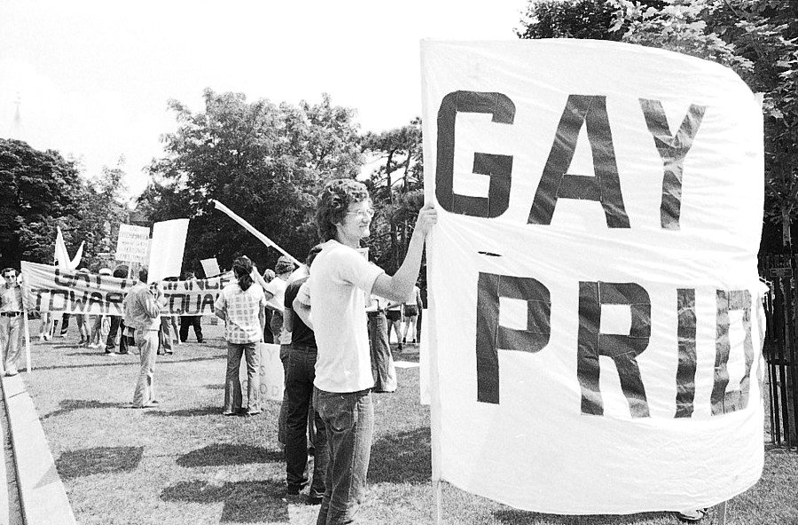 1974 Pride. Photo courtesy of Peter Zorzi.