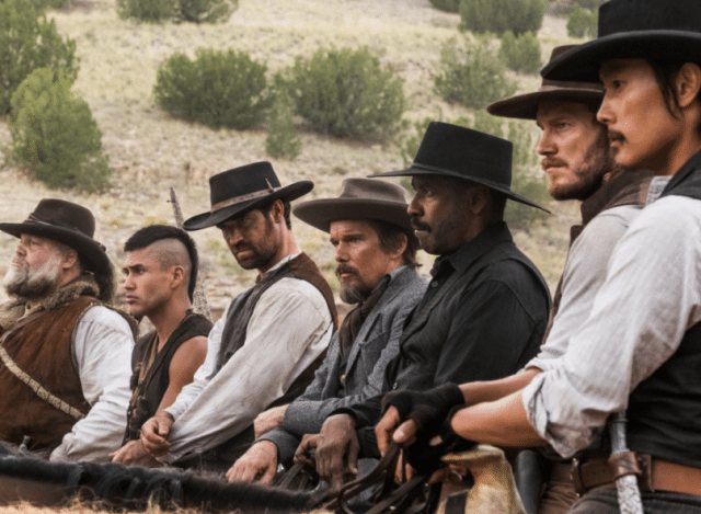Still from festival opener The Magnificent Seven.