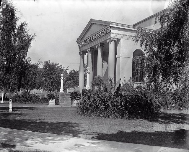 The Graphic Art Building, ca. 1924.  Courtesy of the Toronto Public Library.