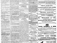 Front page of the second edition of the Telegraph, May 22, 1866.